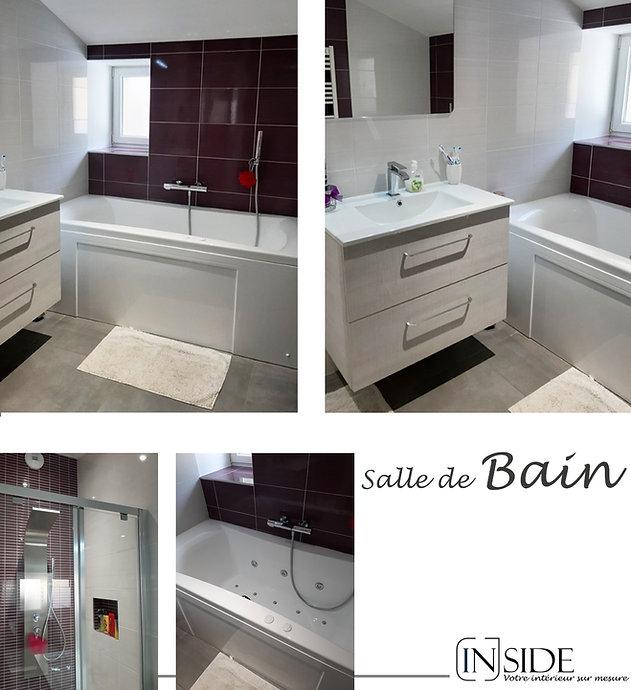 photo rénovation maison salle de bains à Liergues