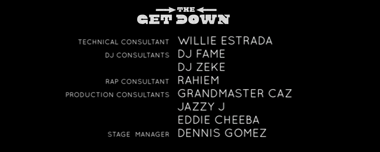 Get Down Credits