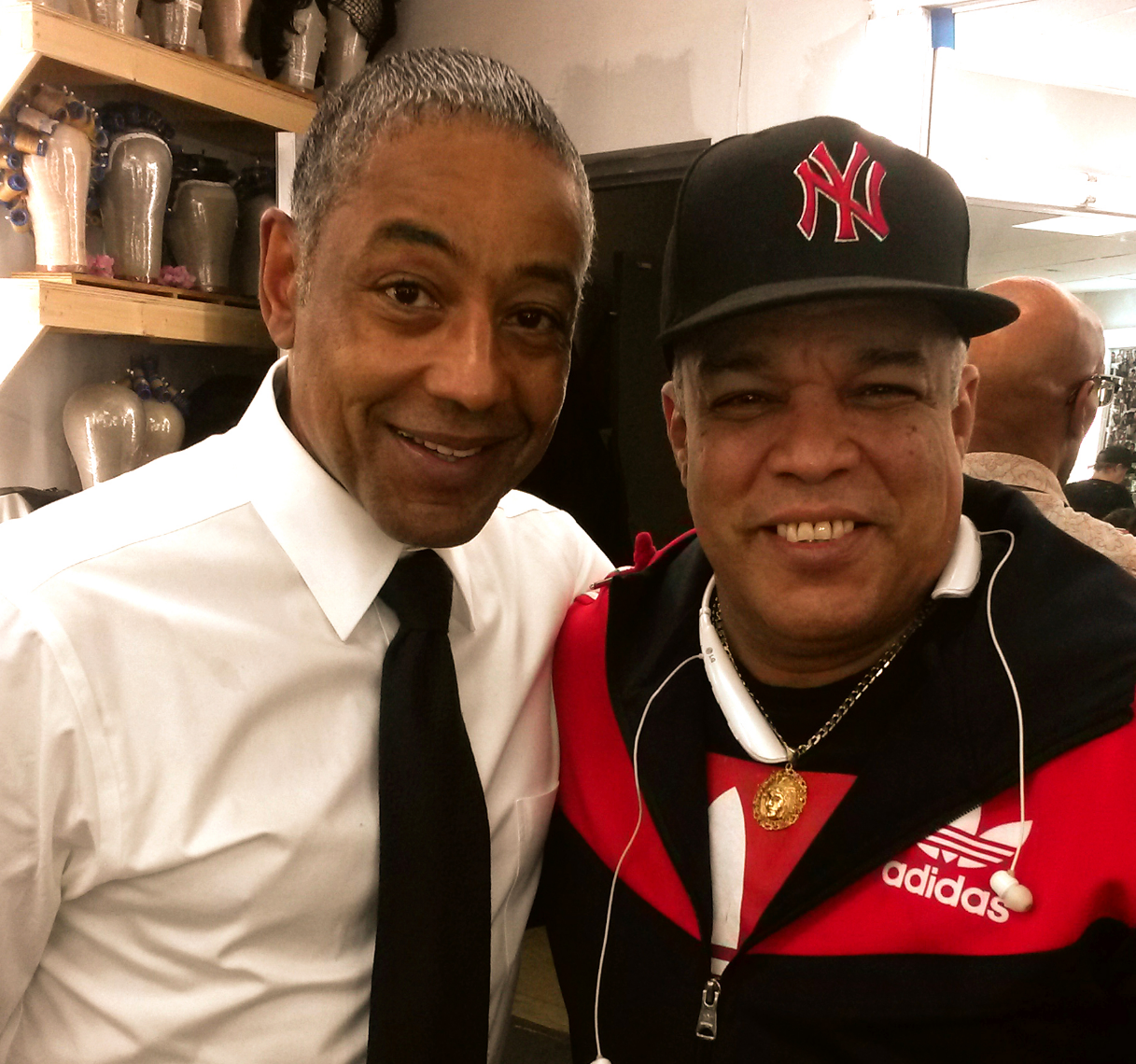 Willie Estrada & Giancarlo Esposito
