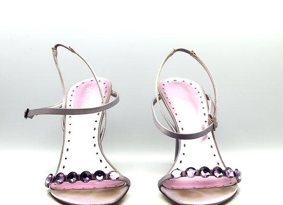 Purple Sandal Heels