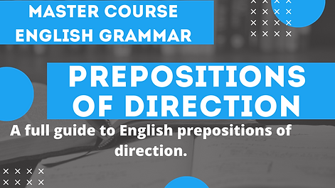 Preposition of Direction