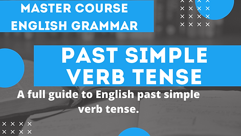 Past Simple Verb Tense