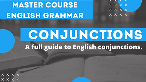 Conjunctions Overview
