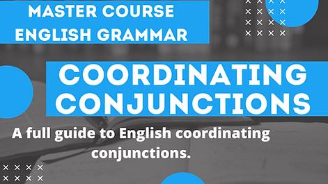 Coordinating Conjunctions