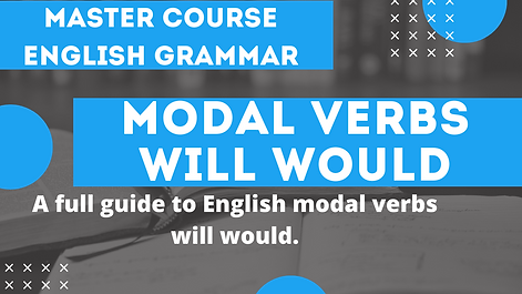 Modal Verb Will Would
