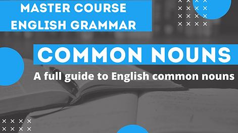 Common Nouns | English