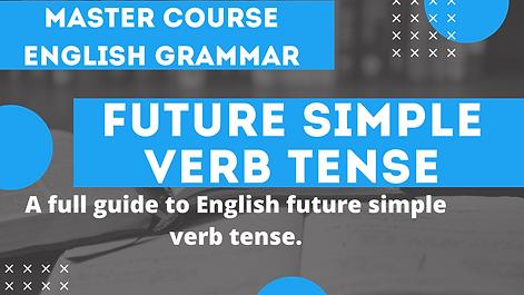 Future Simple Verb Tense