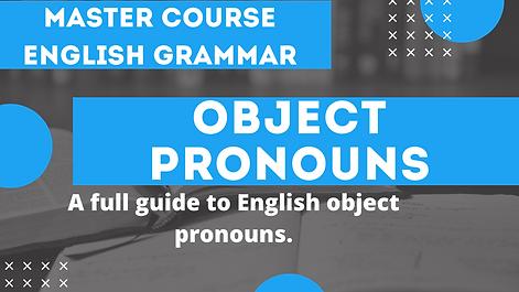 Object Pronouns | English