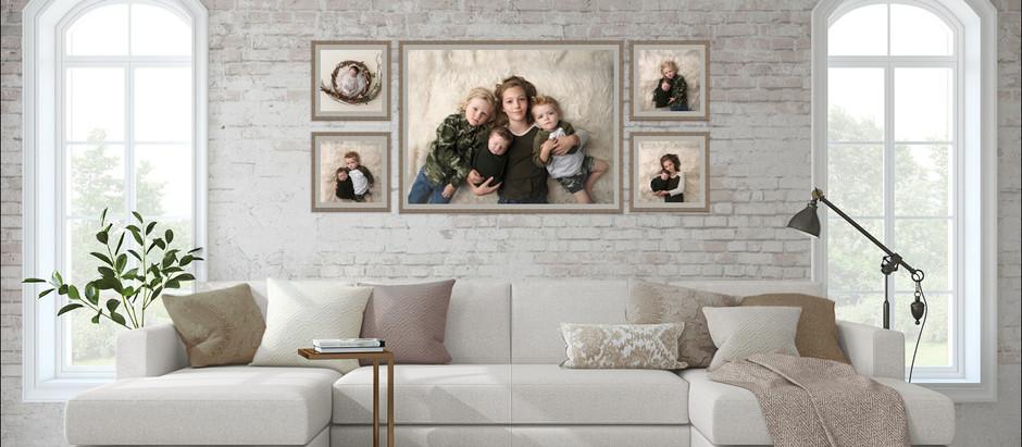 Family Portraits & Interior Design
