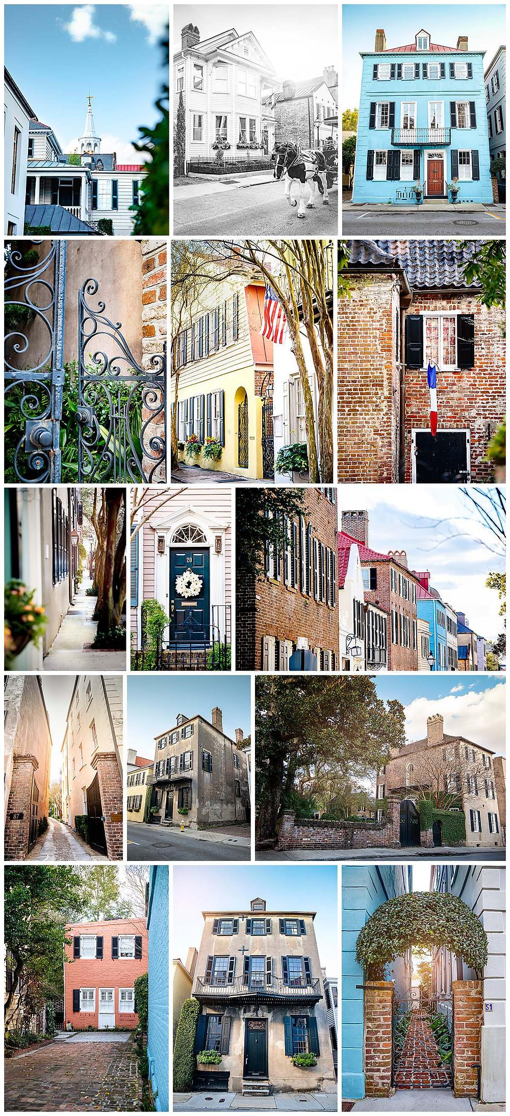 Downtown Charleston SC Architecture - Alisha Cory Photography