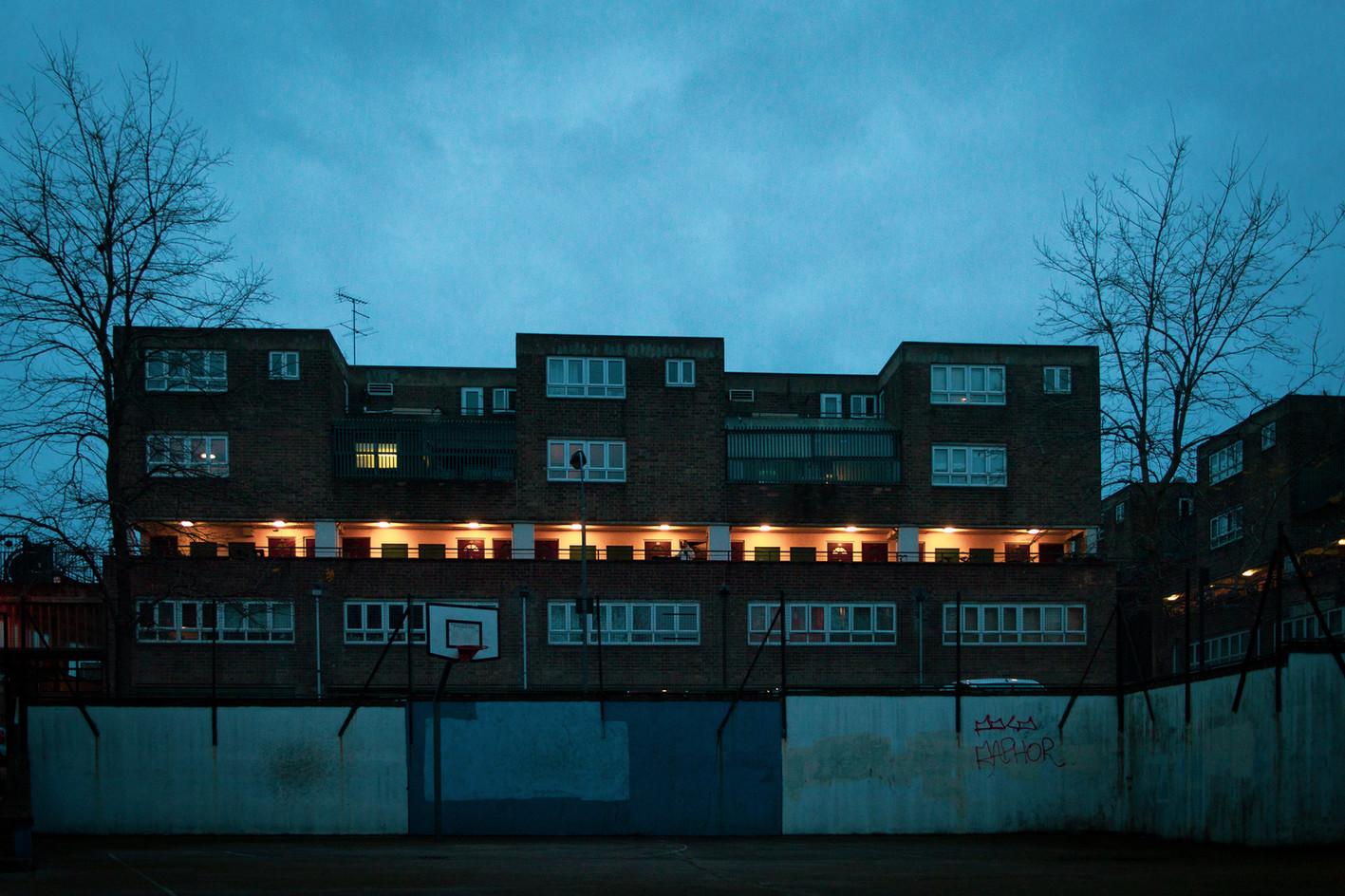 """W14 by Night"", West Kensington. (2020)"