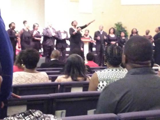 Praise and Worship ensemble