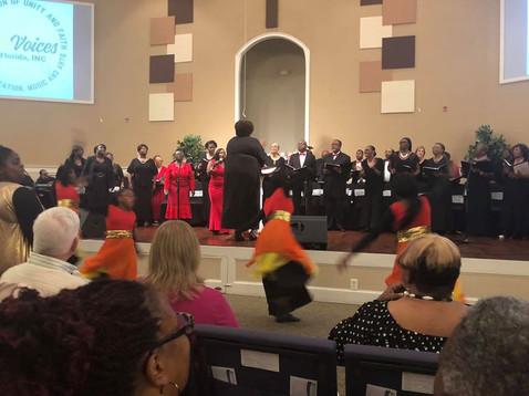 Benefit Concert Mass Choir