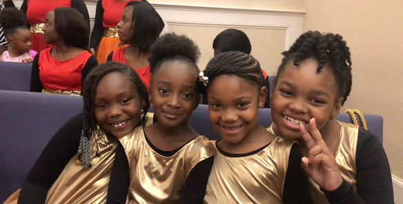 Quartet of Liturgical Dancers