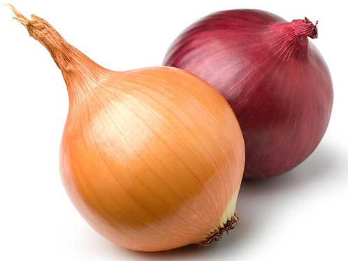Mixed Red/Yellow Onions