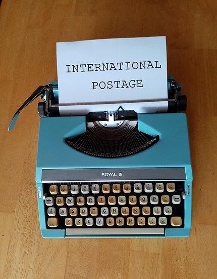International Letter postage