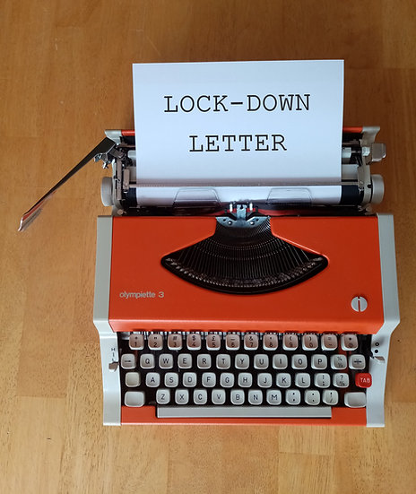 Lock-Down Video Letter