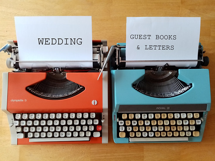 Wedding Letters - Guest Books & General Entertainment