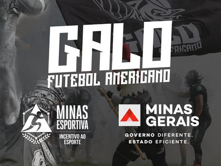 Conheça a parceria entre o projeto Eagles Futebol Americano e Minas Esportiva