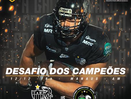 Em duelo de campeões, Galo FA volta a campo contra equipe Manauara
