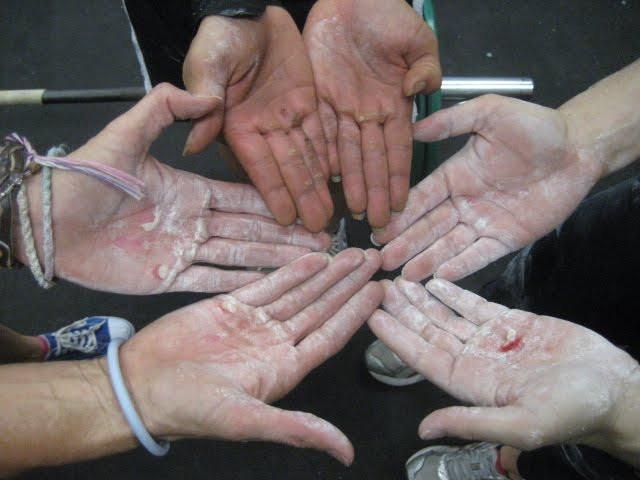 ידיים בקרוספיט