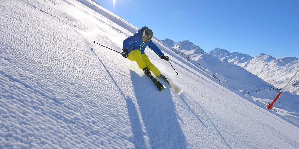 Erster Skitag in der Silvretta Arena Ischgl Samnaun