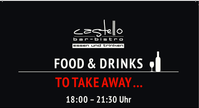 Food & Drinks TO TAKEAWAY..