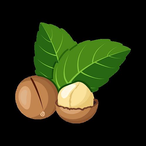 Huile de macadamia vierge biologique