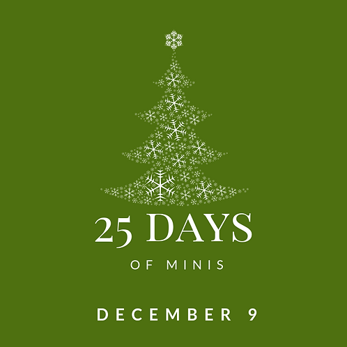 Dec 9 - 25 days of minis