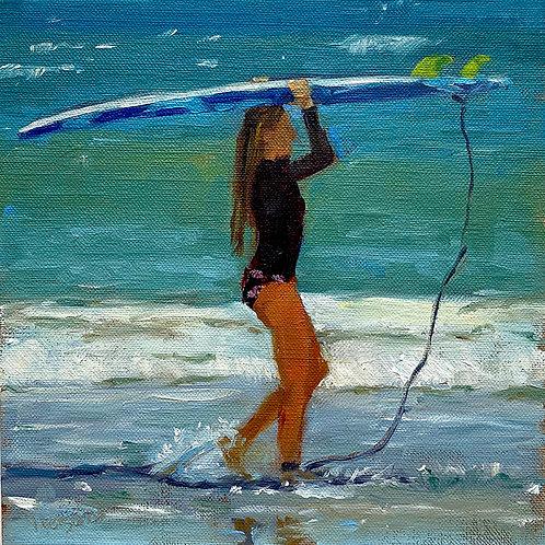 Dec 9 - Surfer Girl