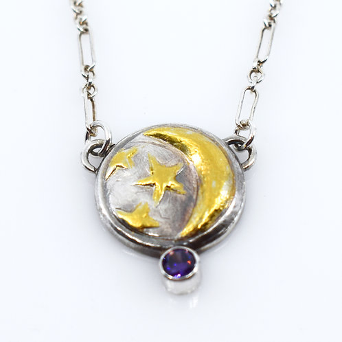 Moon & Stars Collection -Amethyst