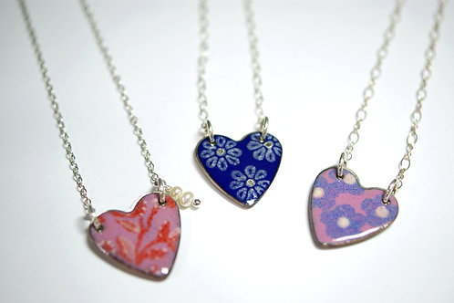 MADE TO ORDER - Hearts with a Message Necklace