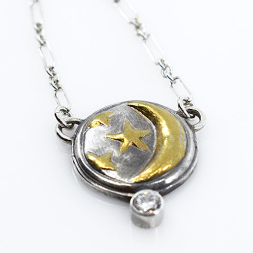 Moon & Stars Collection - CZ