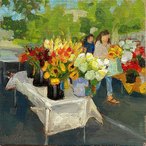 Dec 13 - Market Flower Stand