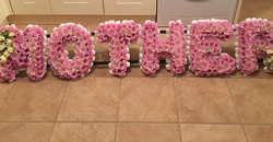 Mother tribute in pink
