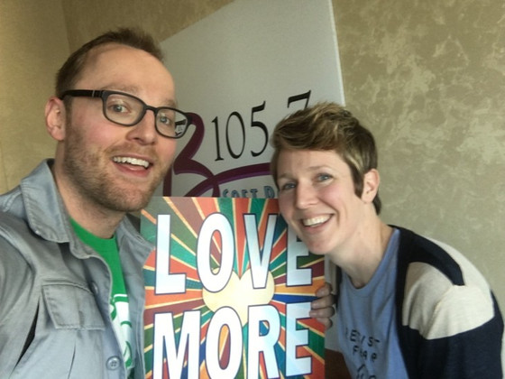 Interview with Sean Copeland of B105.7 in Indianpolis