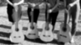 4 gitaren zwart wit.jpg