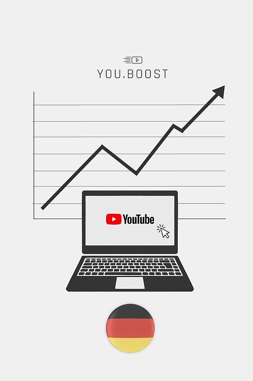 YouTube View's – Deutschland