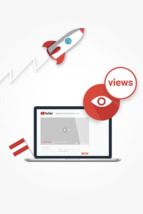 YouTube Views – Österreich