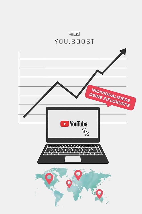 YouTube Klicks kaufen - Alle Länder - YouTube Marketing - YouBoost