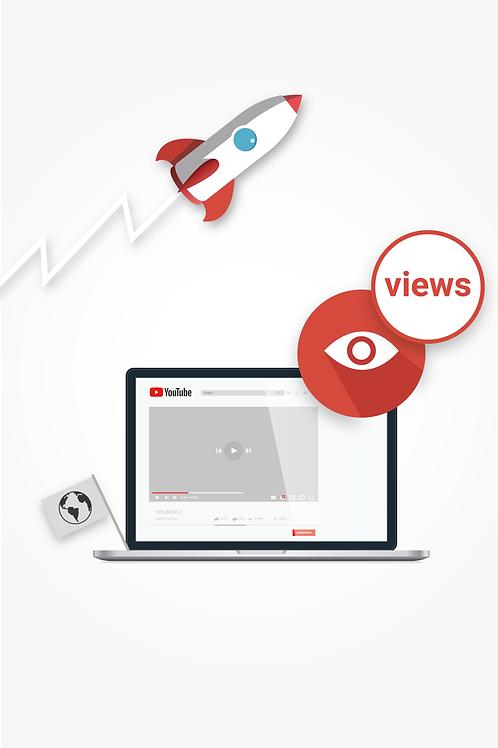 YouTube Views - International   10k Views