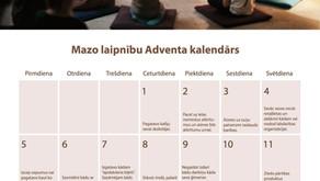 Mazo laipnību Adventa kalendārs