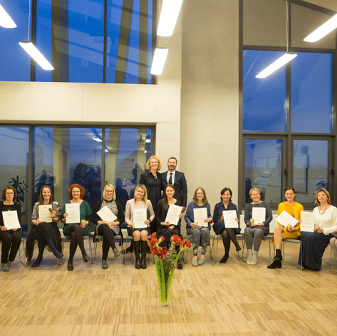 2018. gada apzinātības pedagogu izlaidums.