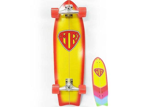 QuiksilverSurf Skate - Mr Super - Orange