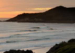 combesgate woolacombe surf sunset devon