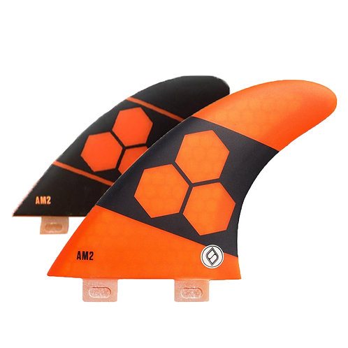 Shapers Fins AM2 Al Merrick Thruster set