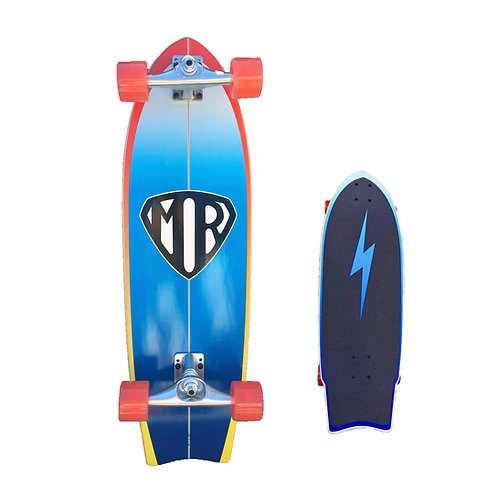 Quiksilver Surf Skate Mr Super Blue Base