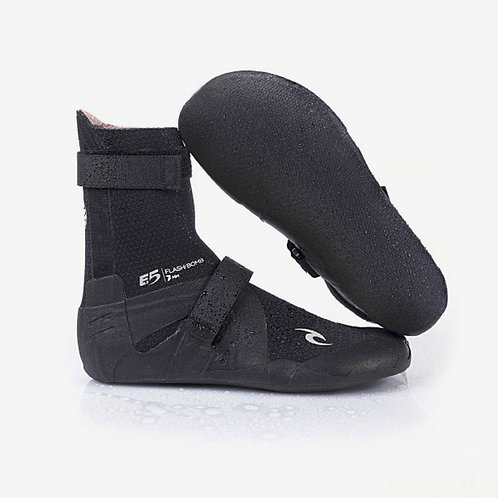 Rip Curl FlashBomb 7mm Round Toe Wetsuit Boot