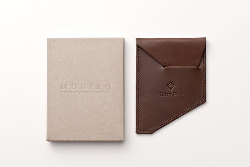 Tetra Drip Leather Pouch (small) [TP-01L]