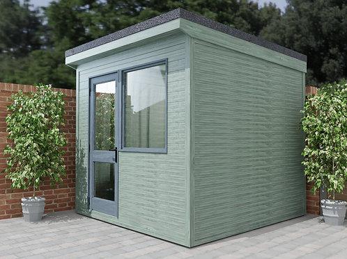 Home Garden Office Build Plans Instructions 2.6m x 2.6m Summer House Cabin